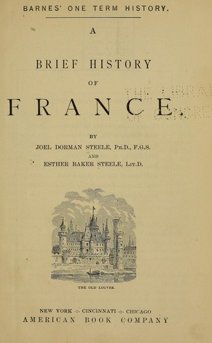 A brief history of France.