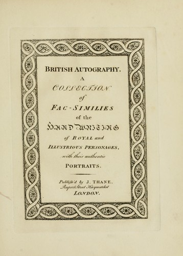 Download British autography.