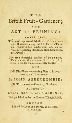 The British fruit-gardener