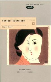 Herself surprised by Joyce Cary