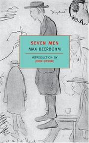 Seven men by Beerbohm, Max Sir