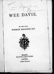 Wee Davie by Macleod, Norman