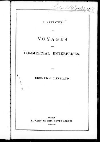A narrative of voyages and commercial enterprises