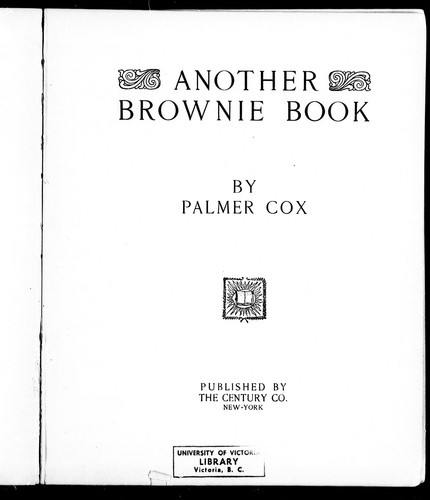 Another Brownie book
