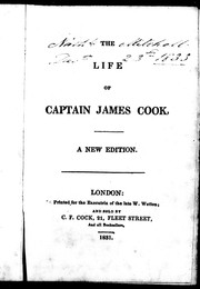 The life of Captain James Cook by Andrew Kippis
