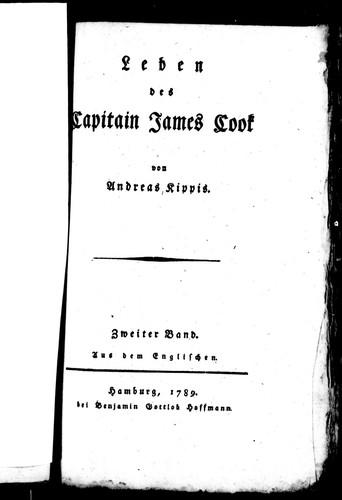 Leben des Capitain James Cook