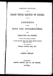 Address to the bond and stockholders PDF