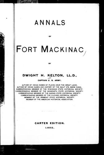 Download Annals of Fort Mackinac