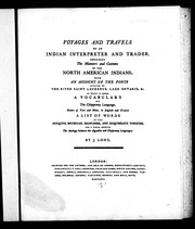 Voyages and travels of an Indian interpreter and trader by Long, John