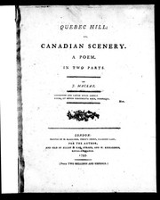 Quebec hill, or, Canadian scenery PDF