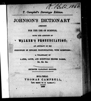 Cover of: Johnson's dictionary by Samuel Johnson