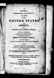 An historical, topographical, and descriptive view of the United States ofAmerica and Upper Canada PDF