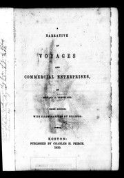 A narrative of voyages and commercial enterprises by Richard J. Cleveland