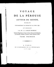 Voyage de La Prouse autour du monde by Jean-Franois de Galaup, comte de Laprouse