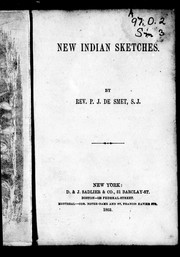 New Indian sketches by Pierre-Jean de Smet