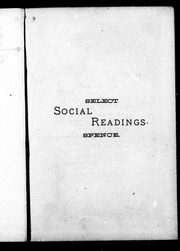 Spence's select social readings PDF