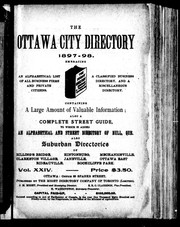 The Ottawa city directory, 1897-98 by