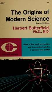 The origins of modern science, 1300-1800 PDF