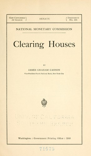 Download Clearing houses.