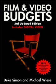 Film & video budgets PDF