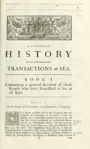 Download A complete history of the most remarkable transactions at sea