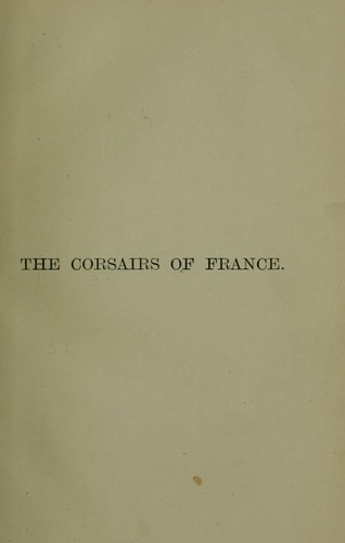 Download The corsairs of France
