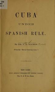 Cuba under Spanish rule.