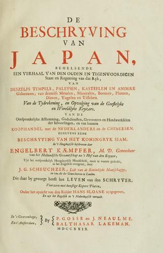 Download De beschryving van Japan