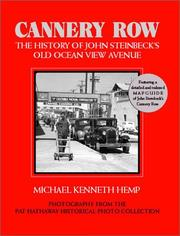Cannery Row by Michael Kenneth Hemp