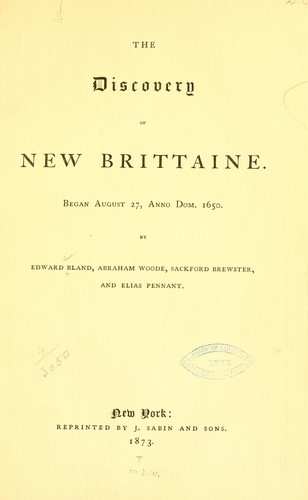 Download The discovery of New Brittaine.