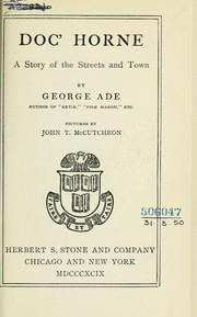 Doc' Horne PDF