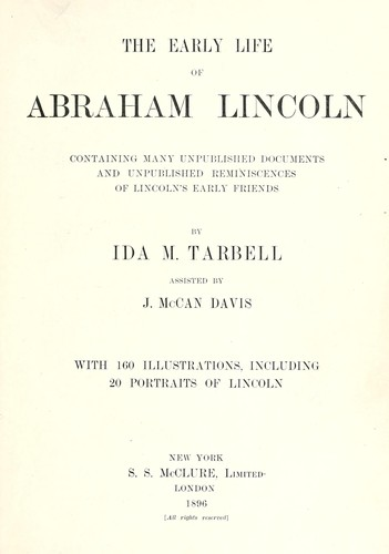 Download The Early life of Abraham Lincoln