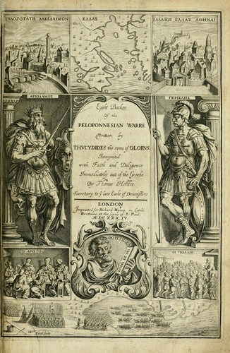Download Eight bookes of the Peloponnesian Warre