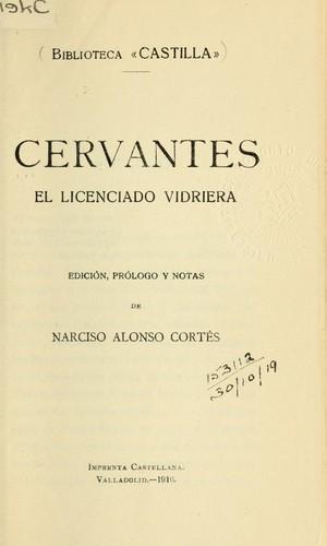 El licenciado Vidriera.
