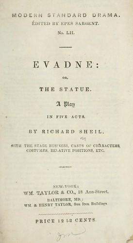 Evadne, or, The statue