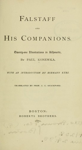 Download Falstaff and his companions.