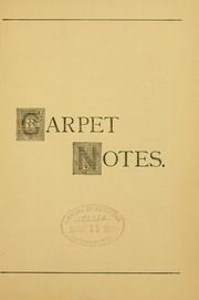 A few facts about carpets PDF
