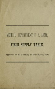 Field supply table PDF