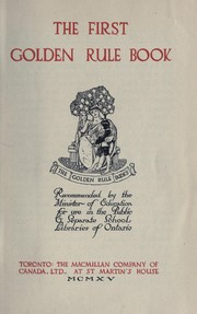 The first golden rule book PDF
