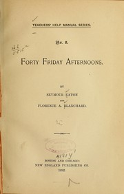 Forty Friday afternoons PDF
