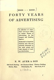 Forty years of advertising PDF