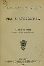 Fra Bartolommeo by Leader Scott