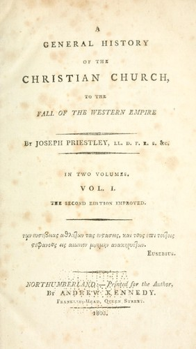 Download A general history of the Christian church.