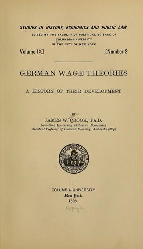 German wage theories
