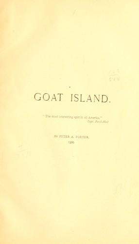 Goat Island.