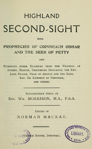 Download Highland second-sight
