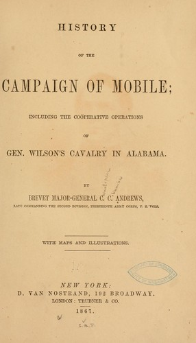 History of the campaign of Mobile