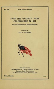 How the Fourth was celebrated in 1911 PDF