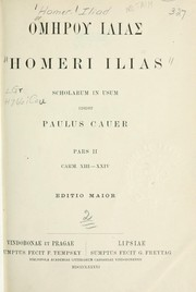 Cover of: Ilias by Homer