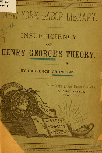 Download Insufficiency of Henry George's theory